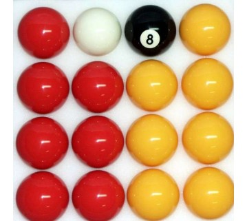 "NEW STANDARD 2"" CASINO POOL BILLIARDS BALLS"