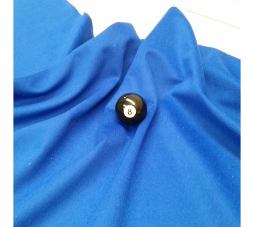 Eddie Charlton Blue Directional Pool Table Cloth 7X3.6