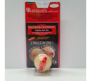 ARAMITH PRACTICE SNOOKER BALL 2 1/16 INCH