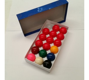 NEW STANDARD 1 7/8 INCH SNOOKER BILLIARDS BALLS