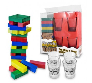 Drunken Tower Drinking Game