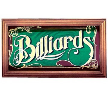 Billiards Snooker Pool Mirror