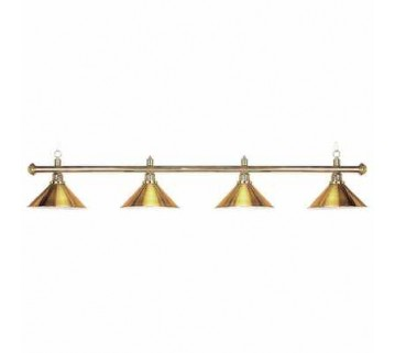 Metal Brass Pool Billiard Table Light 4Xhat