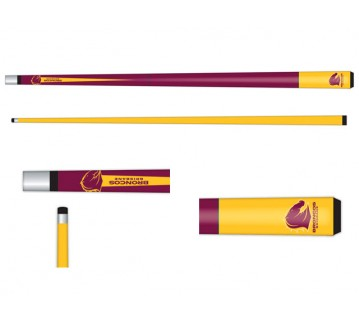 Licensed Nrl Brisbane Broncos Pool Snooker Cue