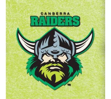 Official Licensed Nrl Canberra Raiders Pool Cloth 7 Foot