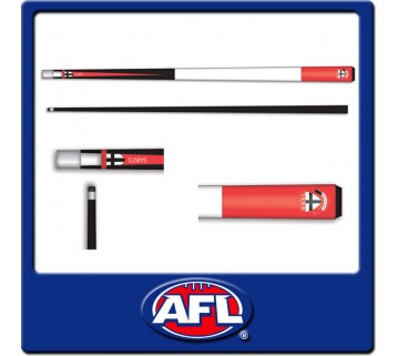 Licensed Afl St Kilda Pool Snooker Cue