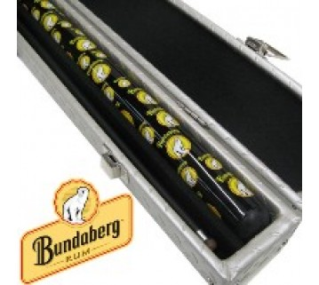 Bundaberg Rum Graphite Pool Cue And Case