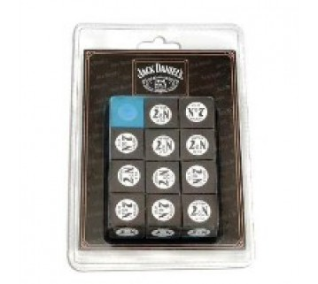 Official Licensed Jack Daniel'S Blue Chalk 12 Piece