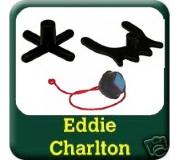 Eddie Charlton cross  spider  Black Chalk Holder