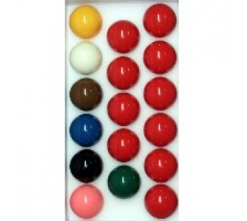 "NEW STANDARD 1 7/8 "" SNOOKER BILLIARDS BALLS"
