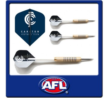Official Afl Carlton Blues Dart Set