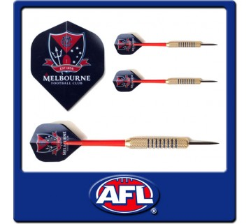 Official Afl Melbourne Dart Set