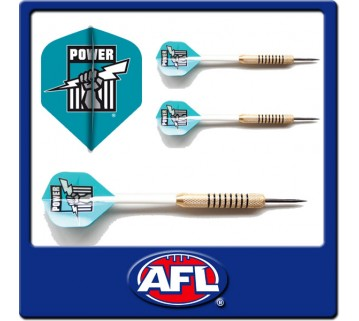 Official Afl Port Adelaide Dart Set