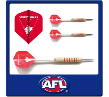 Official Afl Sydney Swans Dart Set