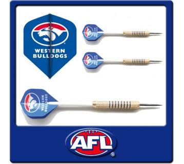 Official Afl Western Bulldogs Dart Set