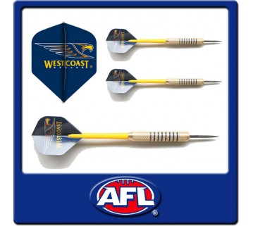 Official Afl West Coast Eagles Dart Set
