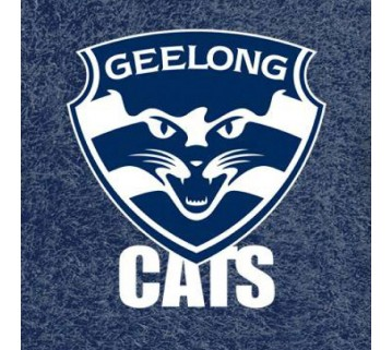 Official Licensed Afl Geelong Cats Pool Cloth 7 Foot