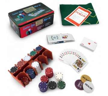 200 PIECE POKER GAME SET