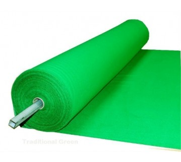 Eddie Charlton Green Directional Pool Table Cloth 7X3.6