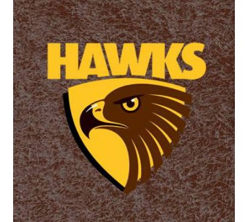 Official Licensed Afl Hawthorn Hawks Pool Cloth 7 Foot