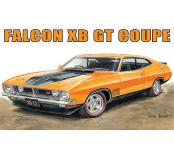 Australian Cars & Transport Ford Falcon XB GT 2 door Tin Sign
