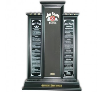 Jim Beam Pool Cue Rack - Black