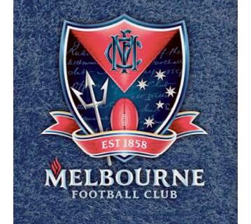 Official Licensed Afl Melbourne Demons Pool Cloth 9 Foot