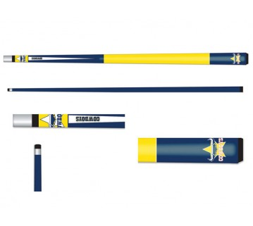 Licensed Nrl North Qld Cowboys Pool Snooker Cue