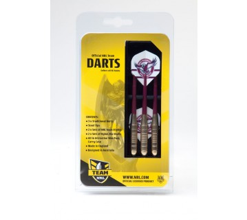 Official NRL Manly Sea Eagles Dart Set