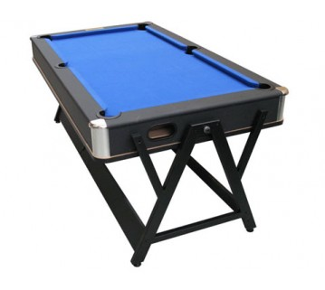 Eddie Charlton Pool & Air Hockey Table Blue Cloth 7 Foot