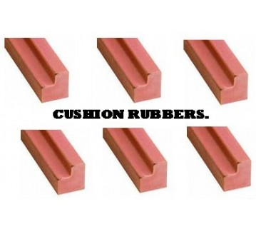 Pool Table 6 X Cushion Rubber Suits A 7F X 3 F.6 Table
