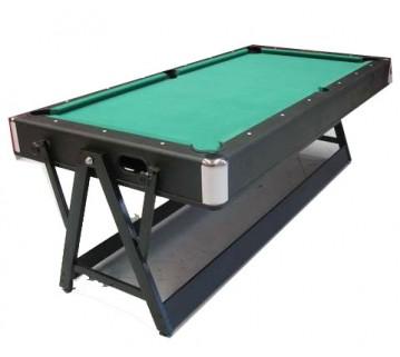 Eddie Charlton Pool & Air Hockey Table Green Cloth 7 Foot