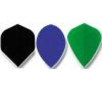 Fabric Plain Dart Flight Kite Shape Set of 3