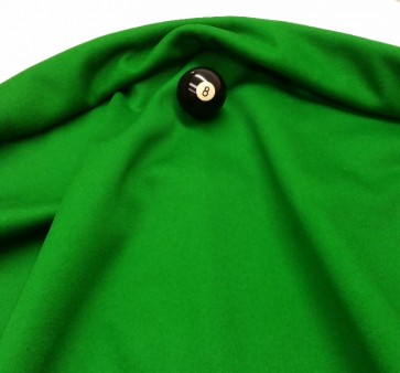 Eddie Charlton DIRECTIONAL Pool Snooker Billiards CLOTH 9ft x 4.6ft - GREEN