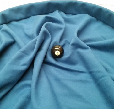 Eddie Charlton DIRECTIONAL Pool Snooker Billiards CLOTH 7ft x 3.6ft - DENIM