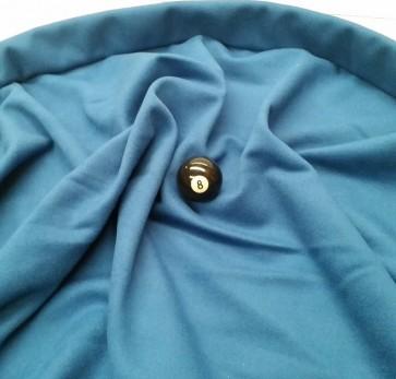 Eddie Charlton DIRECTIONAL Pool Snooker Billiards CLOTH 8ft x 4ft - DENIM