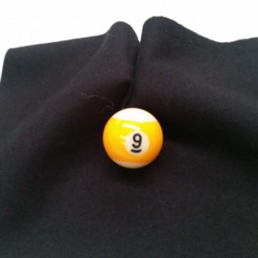 Eddie Charlton DIRECTIONAL Pool Snooker Billiards CLOTH 9ft x 4.6ft - BLACK