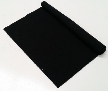 HAINSWORTH English Pool Snooker Billiards CLOTH 7ft x 3.6ft - BLACK