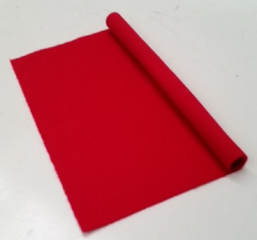 HAINSWORTH English Pool Snooker Billiards CLOTH 7ft x 3.6ft - RED