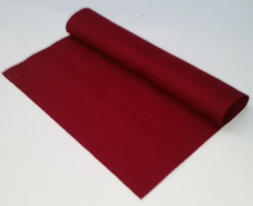 HAINSWORTH English Pool Snooker Billiards CLOTH 9ft x 4.6ft - MAROON