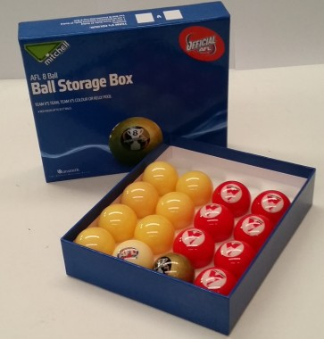 AFL Licensed POOL BALLS - 16 Pack - Sydney SWANS