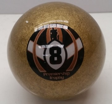 OFFICIAL LICENSED NRL PREMIERSHIP TROPHY 8 BALL