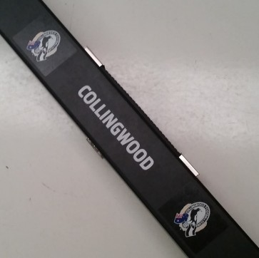 AFL Pool Snooker Billiards CUE CASE - Collingwood MAGPIES