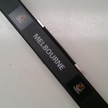 AFL Pool Snooker Billiards CUE CASE - Melbourne DEMONS