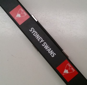 AFL Pool Snooker Billiards CUE CASE - Sydney SWANS