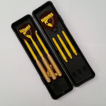 Official Afl Hawthorn Dart Set