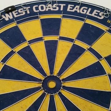 AFL Licensed DARTBOARD - West Coast EAGLES