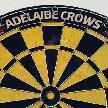 AFL Licensed DARTBOARD - Adelaide CROWS