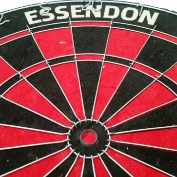 AFL Licensed DARTBOARD - Essendon BOMBERS