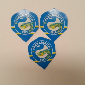 NRL Licensed DART FLIGHTS x 3 - Parramatta EELS